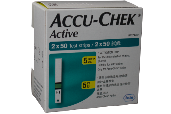 Accu-Chek® Active 100's Test Strips