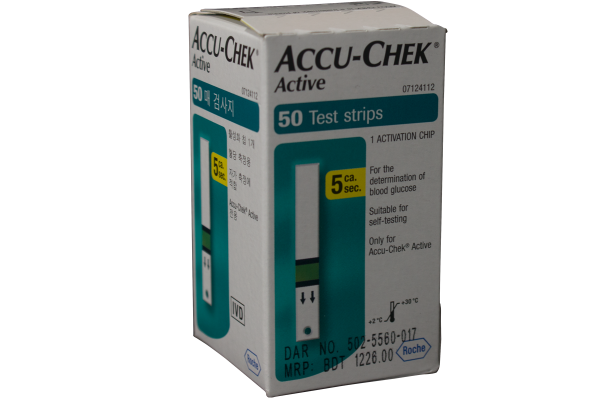Accu-Chek® Active 50's Test Strips